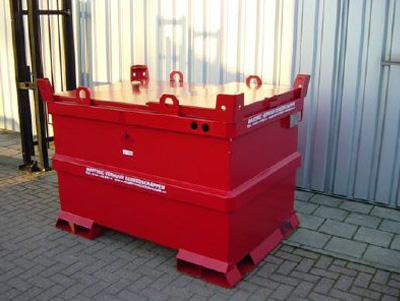 Brandstoftank 1150 liter