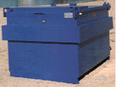 Brandstoftank 2400 liter
