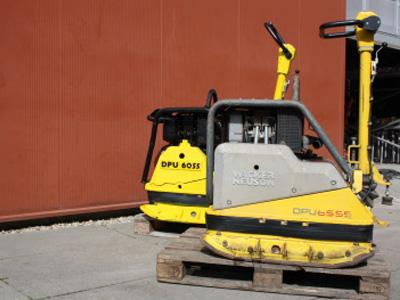Trilplaat zwaar 90 cm, 6 ton – incl. 1 tank diesel
