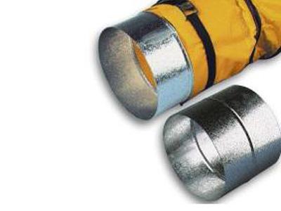 Koppelstuk luchtslang TBV ventilator en dieselheater 200mm