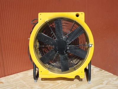 Ventilator (3 standen, 4500m³)