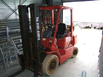 Heftruck 2,5 ton