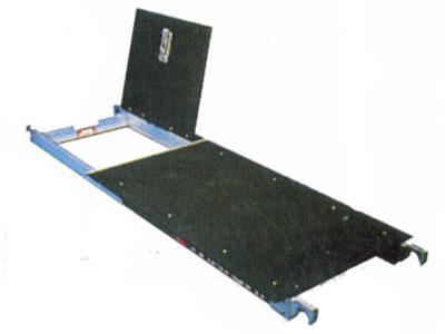 Extra platform bij rolsteiger